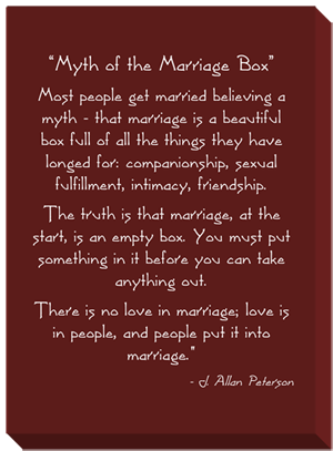 Myth of the Marriage Box